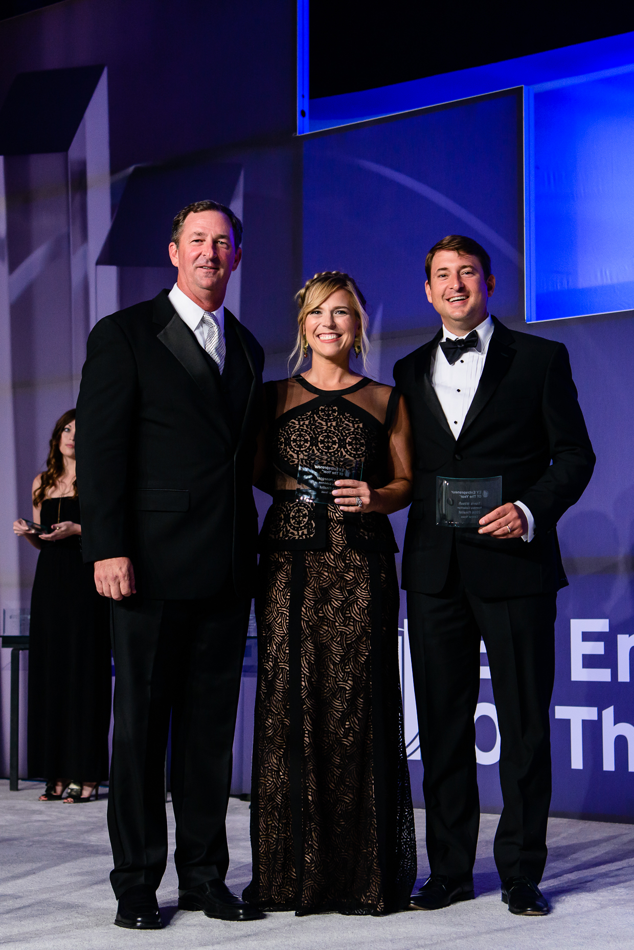 Austin Event Photographer - Ernst and Young Entrepreneur of the Year Award - Stage