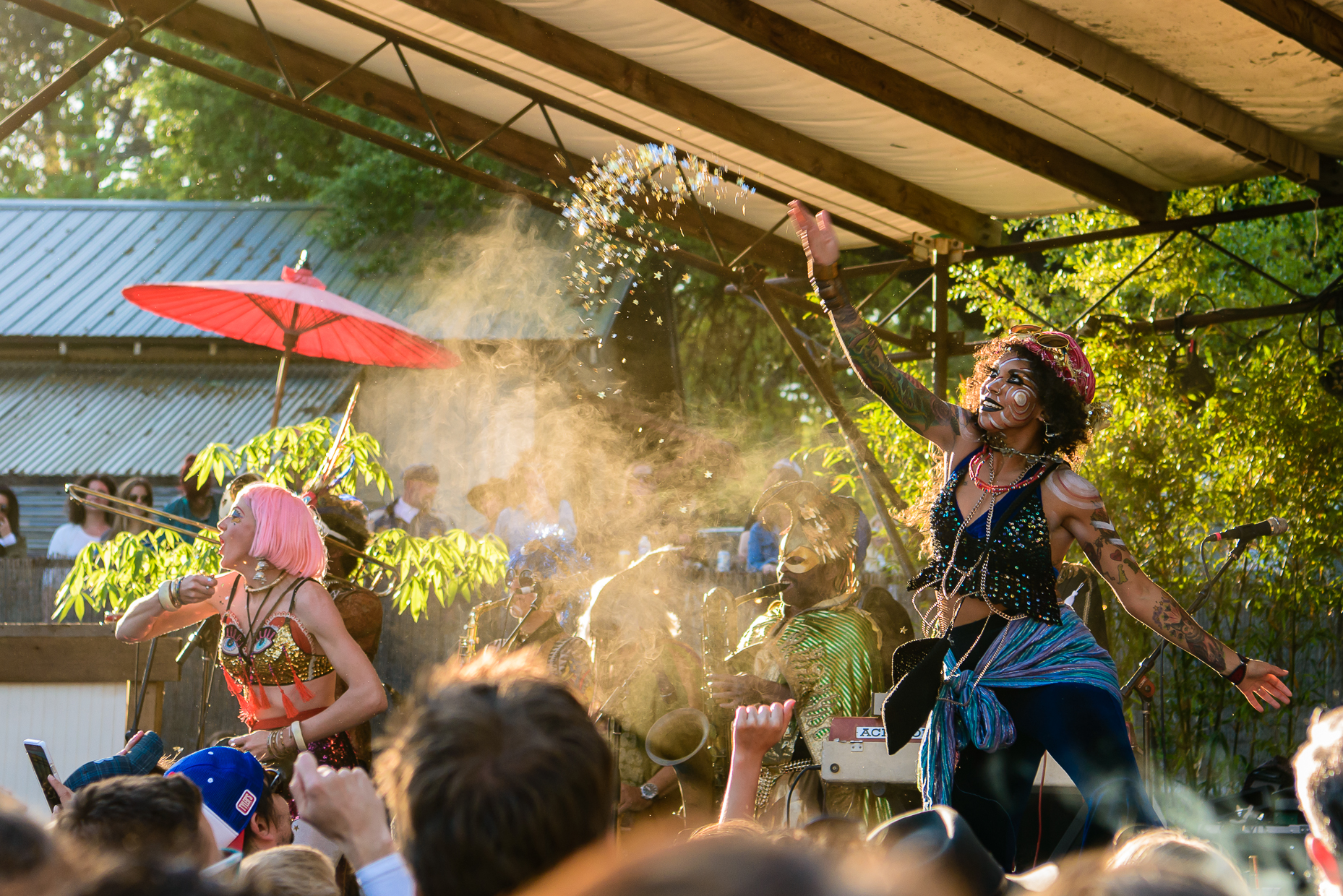 Austin Event Photographer - SXSJ - Golden Dawn Arkestra